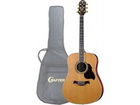Акустическая гитара Crafter D 7/N Acoustic guitar with Crafter SB-D soft bag