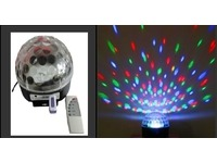 Световой LED прибор X-Laser X-MB04 LED Crystal Magic BALL MP3