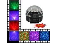 Световой LED прибор LanLing LXG111 RGB LED Crystal Disco Ball Light 6W