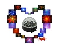 Световой LED прибор LanLing LXG112 RGBYW LED Crystal Disco Ball Light 6W