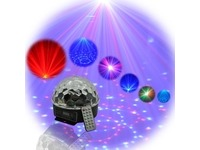 Световой LED прибор LanLing LXGF111 RGB LED Crystal Disco Ball Light 6W с ДУ