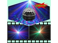Световой LED прибор LanLing LXG114 RGB LED Crystal Disco Ball Light 3W