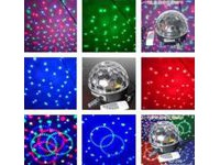 Световой LED прибор DS-LED046-1G LED Crystal Magic BALL MP3