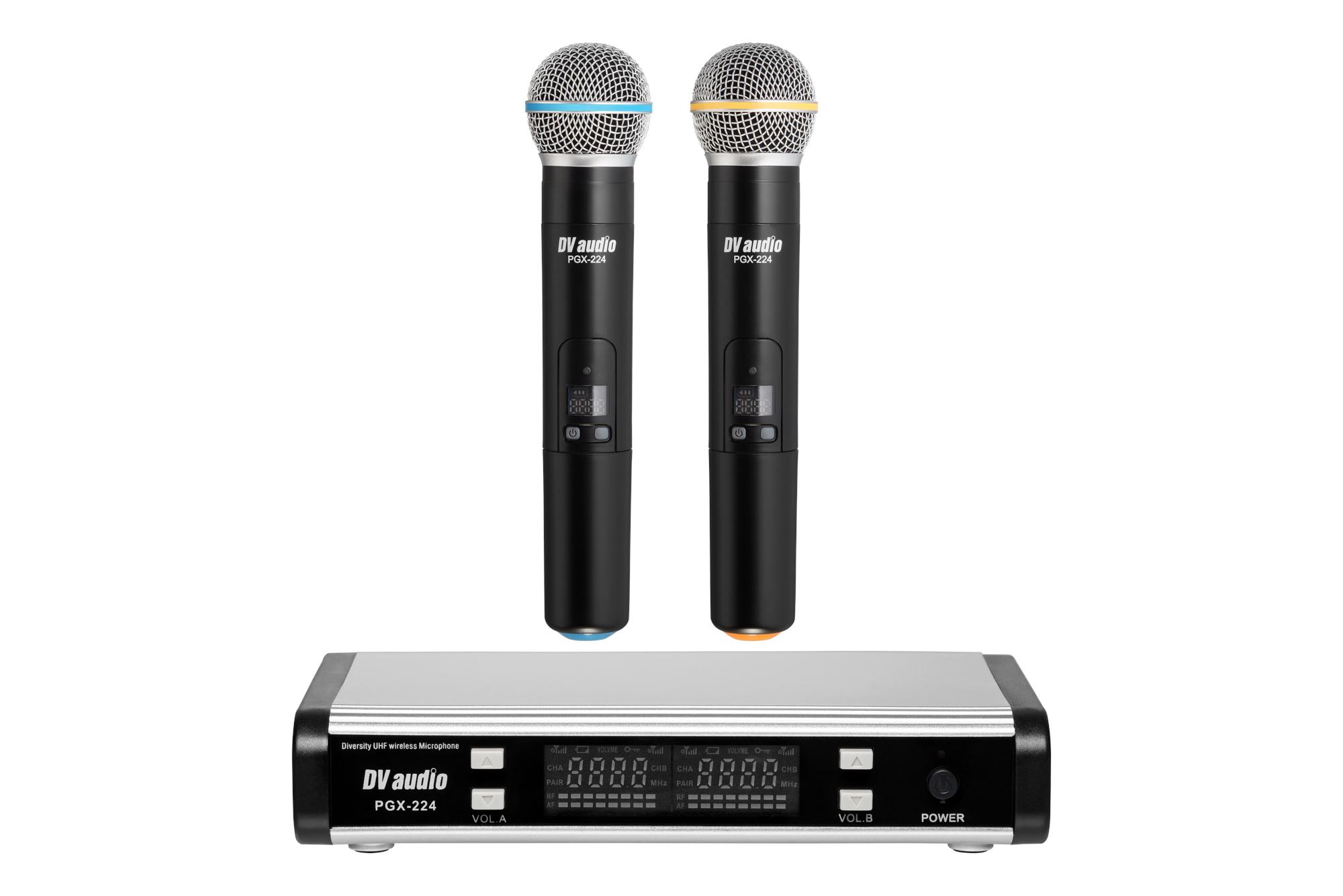Радиомикрофон DV audio PGX-224 сдвоенный